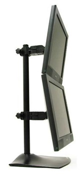 Vertical Dual-Monitor Desk Stand (MA-DS100V)