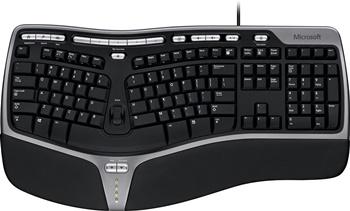 Microsoft Ergonomic Wired Keyboard