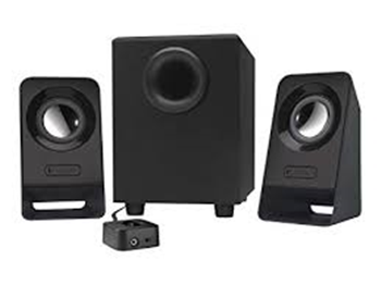 Logitech Speaker Systems with Subwoofer