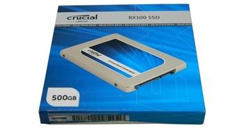 Crucial 500 GB SSD