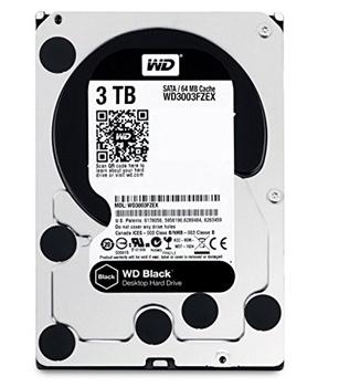 Western Digital Black 3 TB Hard Drive