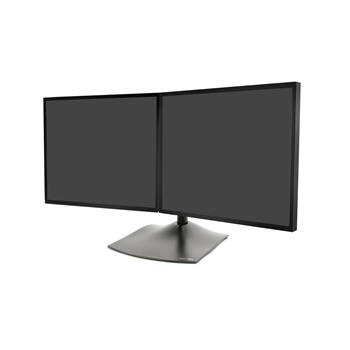 Horizontal Dual-Monitor Desk Stand (MA-DS100)